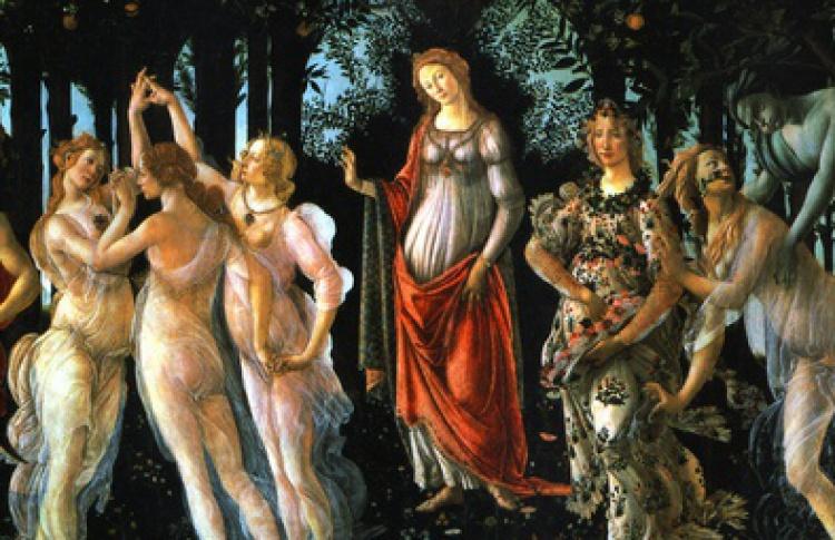 Образ Мадонны в живописи Раннего Возрождения