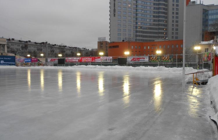 Каток на Стадионе юных пионеров