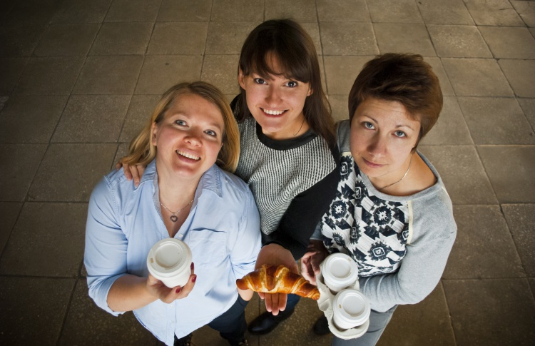 Елена Усанова встретилась с владелицами маленького, но очень симпатичного Urban Cafe