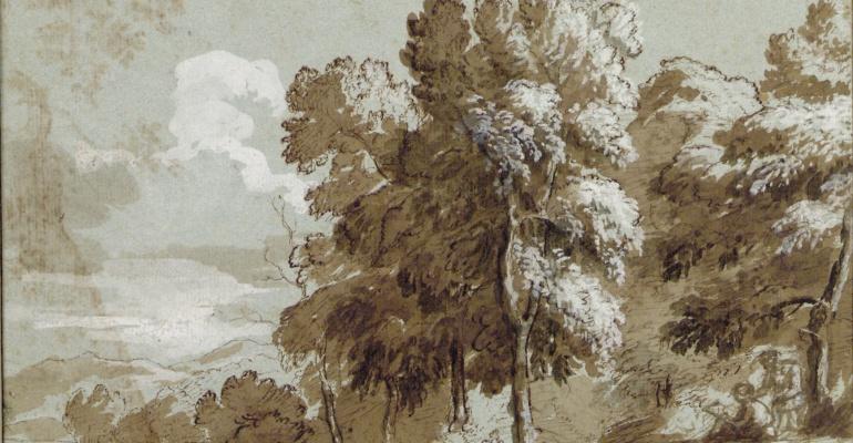 Рисунки французских мастеров из музея «Альбертина»