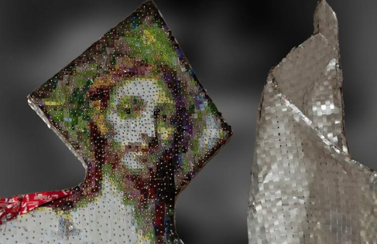 Рельефные картины Никоса Флороса