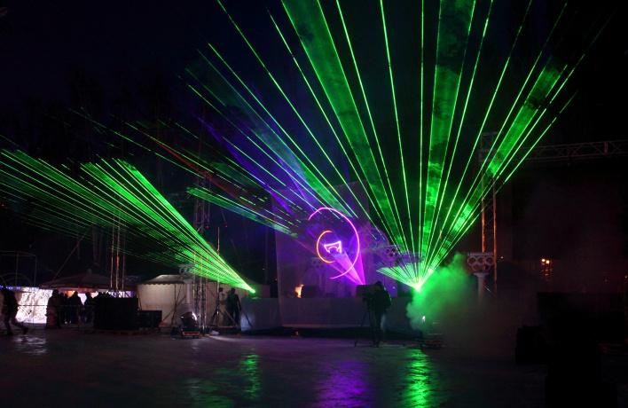 В Измайловском парке откроют зимний сезон лазерным шоу