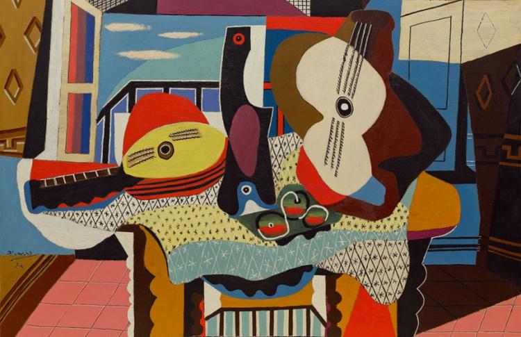 Пикассо: Снаружи и Внутри
