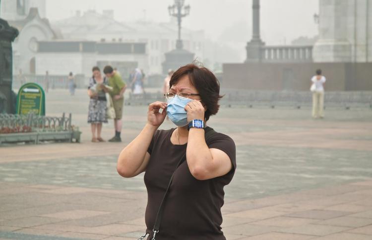 Воздух в городе очистился от сероводорода