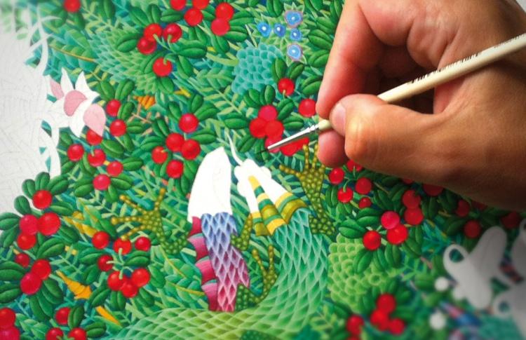 Модное искусство Kirill Ovchinnikov: живопись превращается в одежду