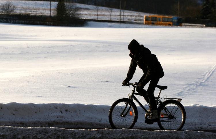 Велосипед и зима: насколько они совместимы?
