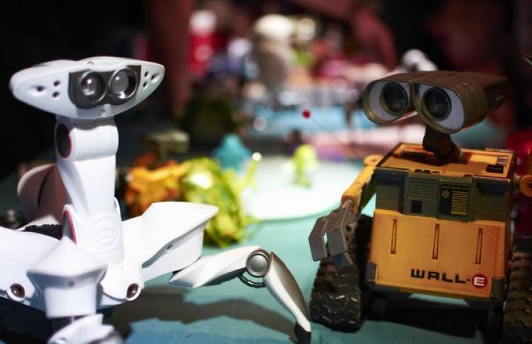 Знакомьтесь, я - робот!