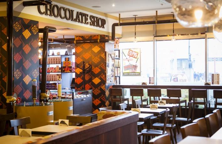В торговом центре «Метрополис» открывается кафе Max Brenner