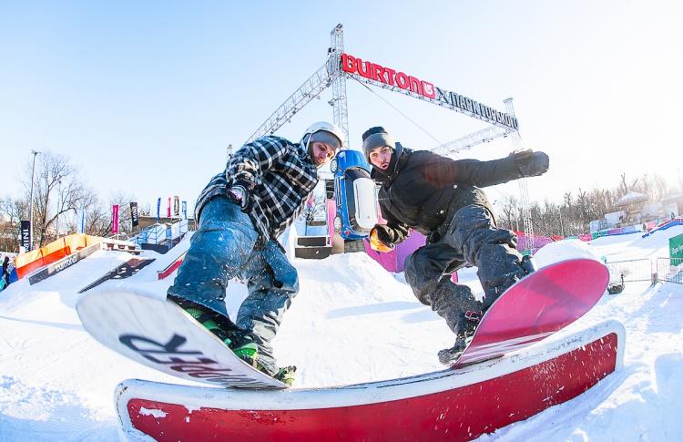 В Парке Горького откроется крупнейший в мире сноуборд-парк