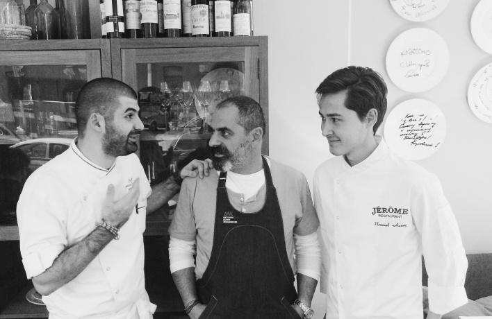 Три шефа на кухне