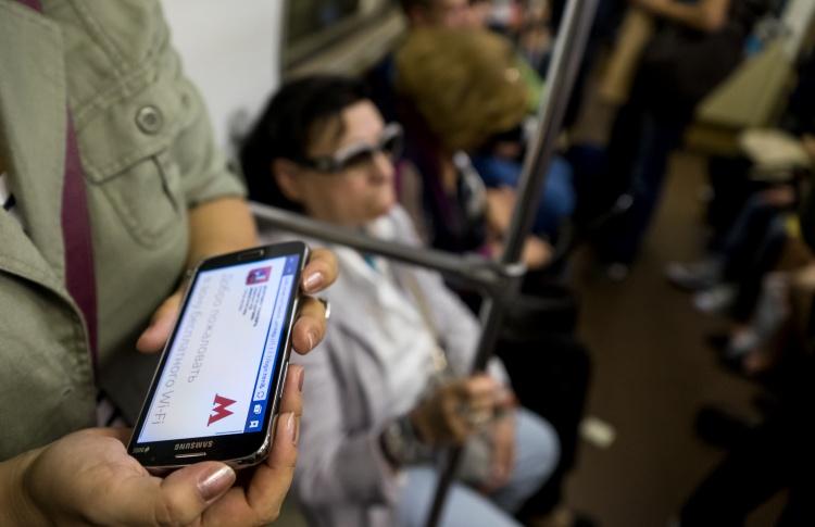 Бесплатный wi-fi заработал на всех ветках метро