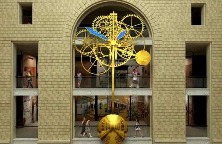 В Москве начали собирать самые большие на планете часы