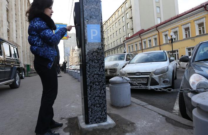 Платная парковка выходит за пределы Третьего транспортного кольца