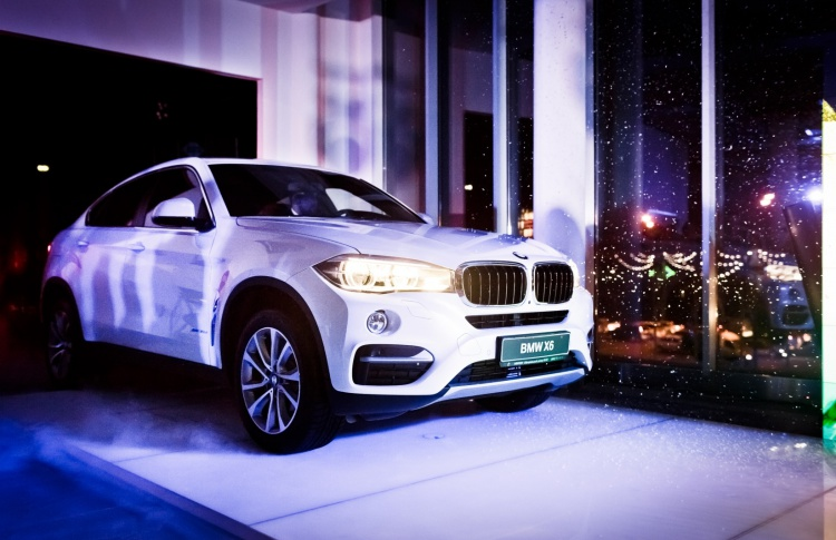 АВИЛОН BMW презентовал новый BMW X6