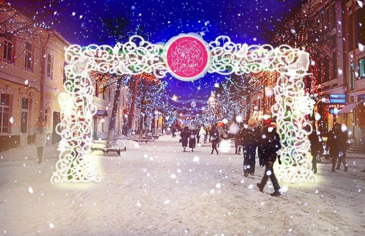 Начался новогодний фестиваль «Лучший город зимы»