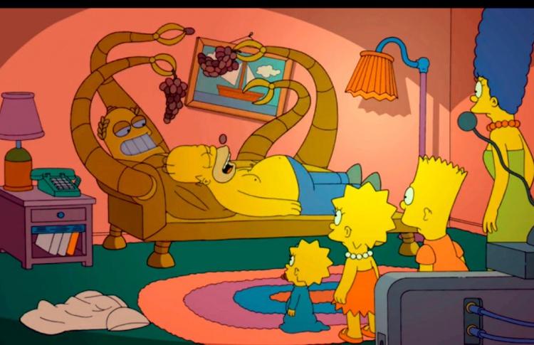 В Подмосковье построят точную копию дома Симпсонов