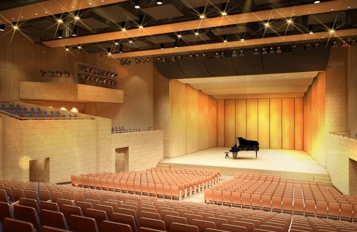 У Филармонии появился новый зал