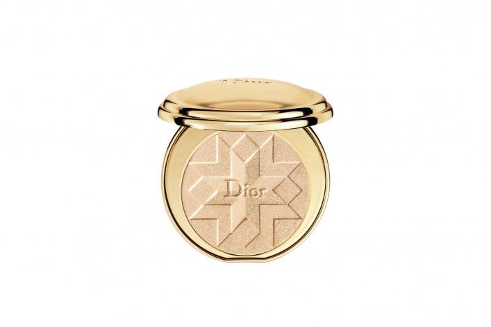 Рождественская коллекция макияжа Dior Golden Shock