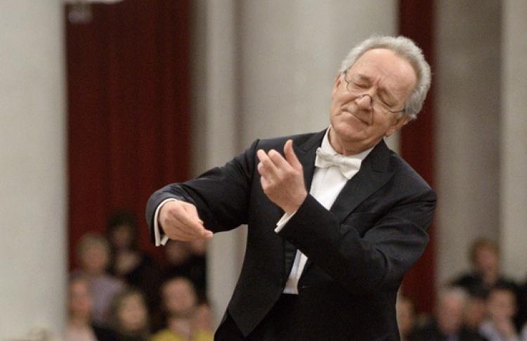 Юрий Темирканов и академический симфонический оркестр Филармонии
