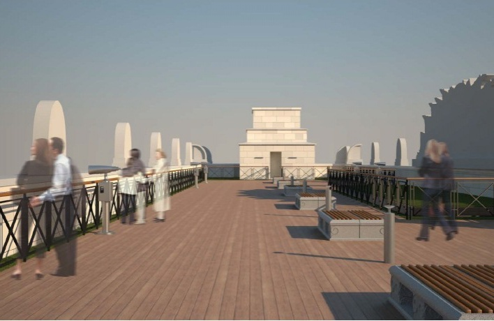 В Парке Горького откроют новую смотровую площадку