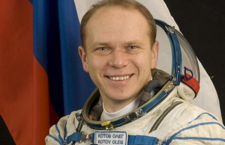 Встреча с космонавтом Олегом Котовым