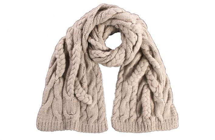 Кашемировый шарф от FRAAS
