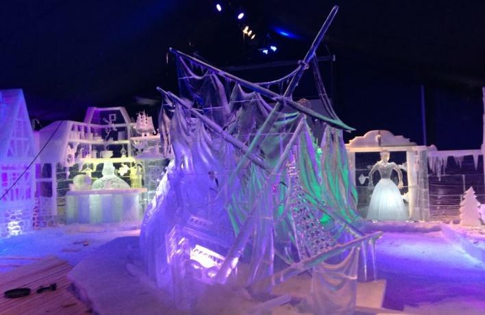 На «Планете Led» в Сокольниках покажут лучшие образцы ледовой скульптуры