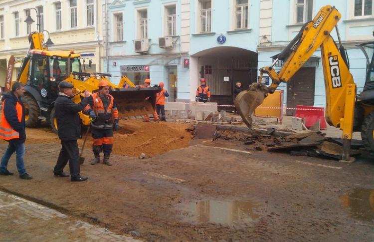Тверскую, Лубянку и еще два десятка улиц в центре благоустроят