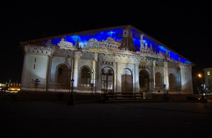Световые шоу на зданиях станут показывать 260 дней в году