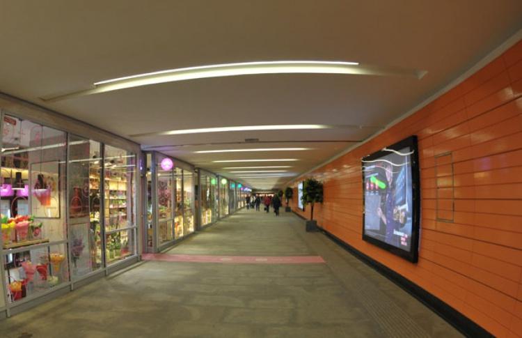В переходах у метро появятся зоны самообслуживания