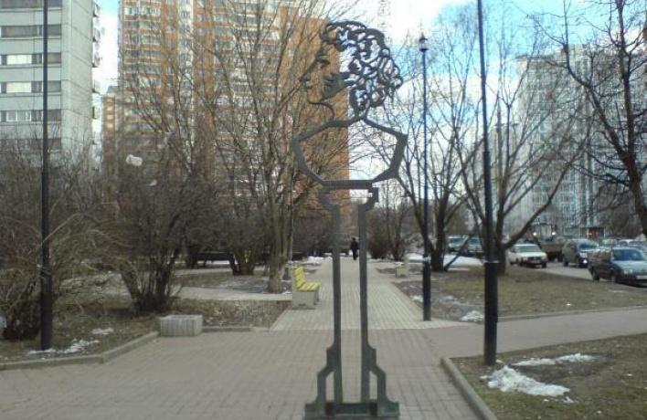 В городе украли памятник Пушкину