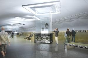 Станцию «Тульская» украсят пряниками и самоварами