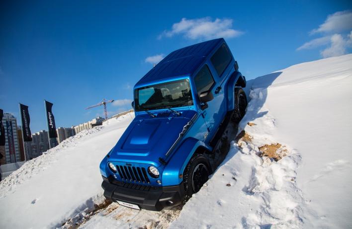 Провожаем зиму на Jeep Territory