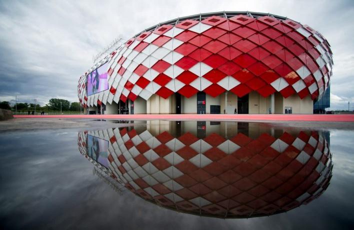 «Открытие арена» вошел в тройку лучших стадионов мира 2014-го