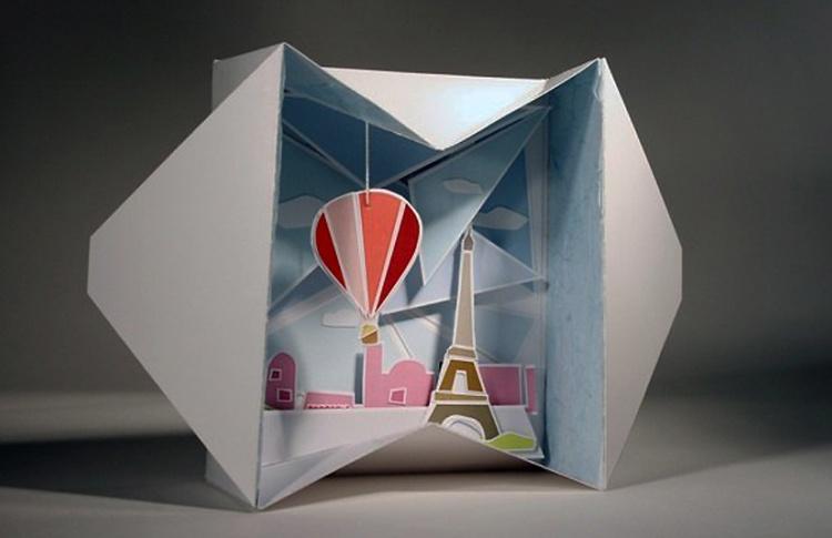 Бумага и дизайн вне формата