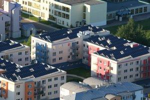 В Москве начнут строить дома с солнечными батареями
