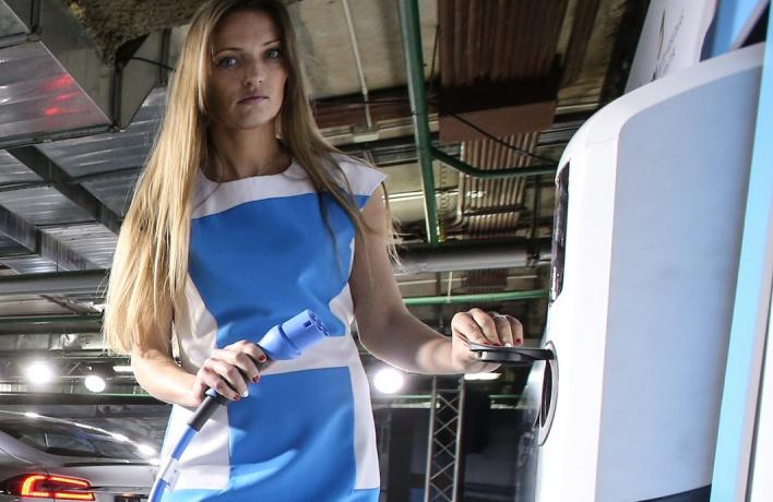 В Москве появится сеть заправок для электромобилей