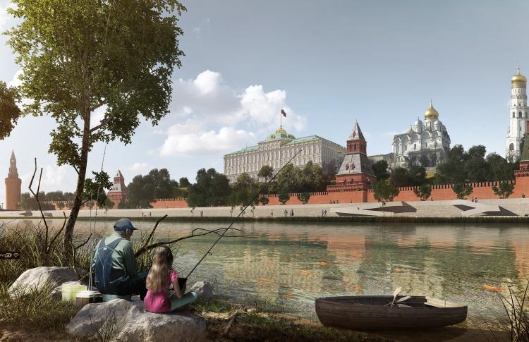 Концепцию развития Москвы-реки выставили на общественное голосование