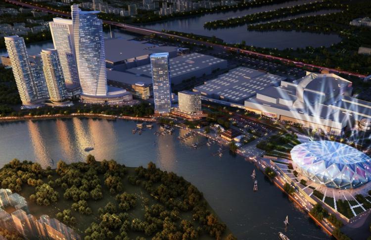 В «Крокус-сити» построят океанариум и 50-этажные небоскребы