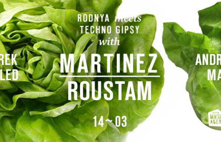 Techno Gipsy Showcase with Martinez / Denmark /