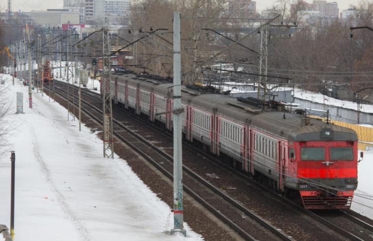 В Москве запустили первую электричку с wi-fi