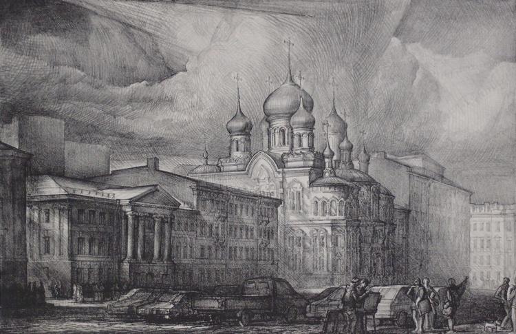 Санкт-Петербург - мир архитектурной фантазии