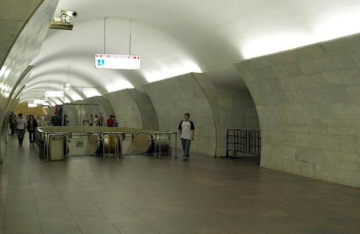 Вход на станцию «Тверская» открыт