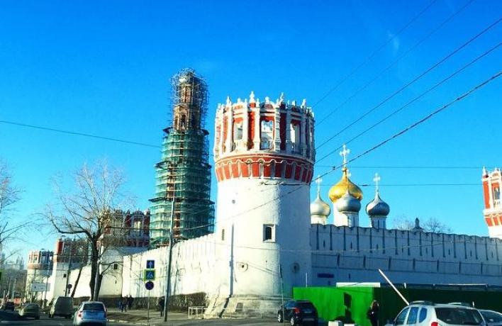 На колокольне Новодевичьего придется заменить купол
