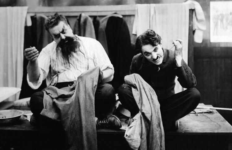 Немое кино с тапером: Чарли Чаплин