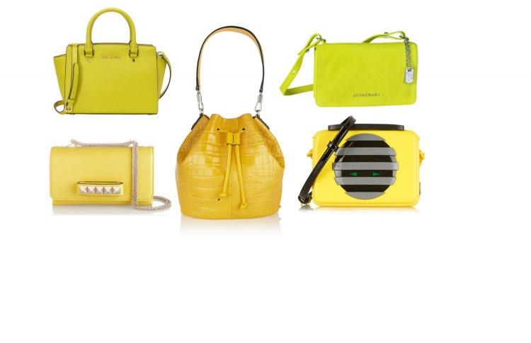 30 ярких сумок для весны