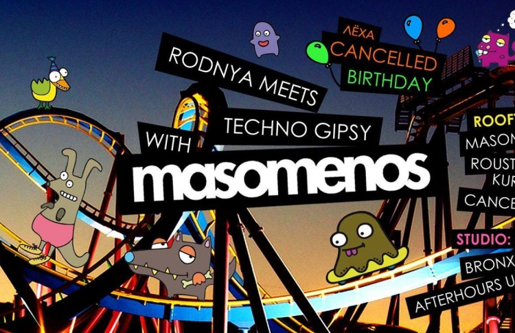 Rodnya meets Techno Gipsy with Masomenos