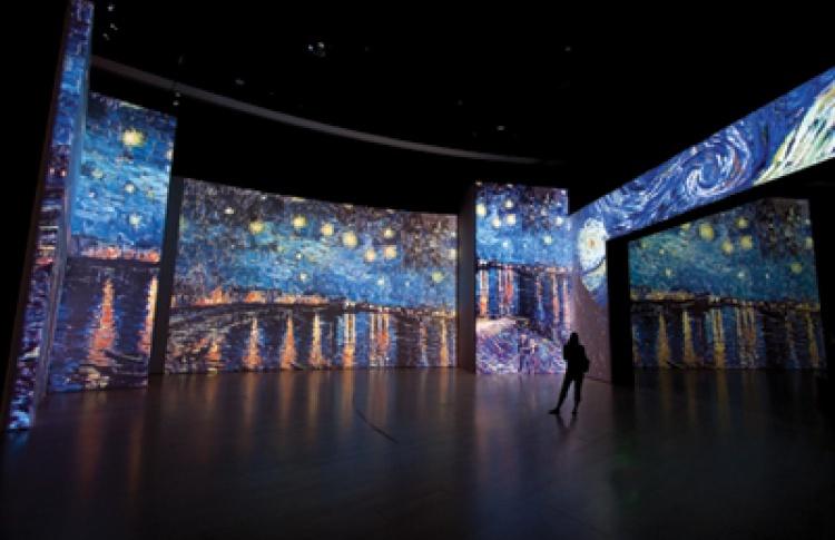 День рождения Винсента Ван Гога на мультимедийной выставке «От Моне до Сезанна. Французские импрессионисты»