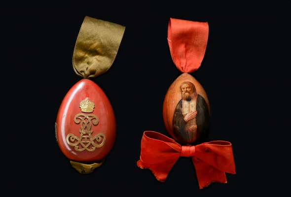 Выставка деревянных пасхальных яиц XIX - XXI вв.  - Фото №7