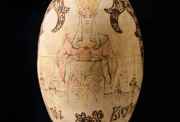 Выставка деревянных пасхальных яиц XIX - XXI вв.  - Фото №6